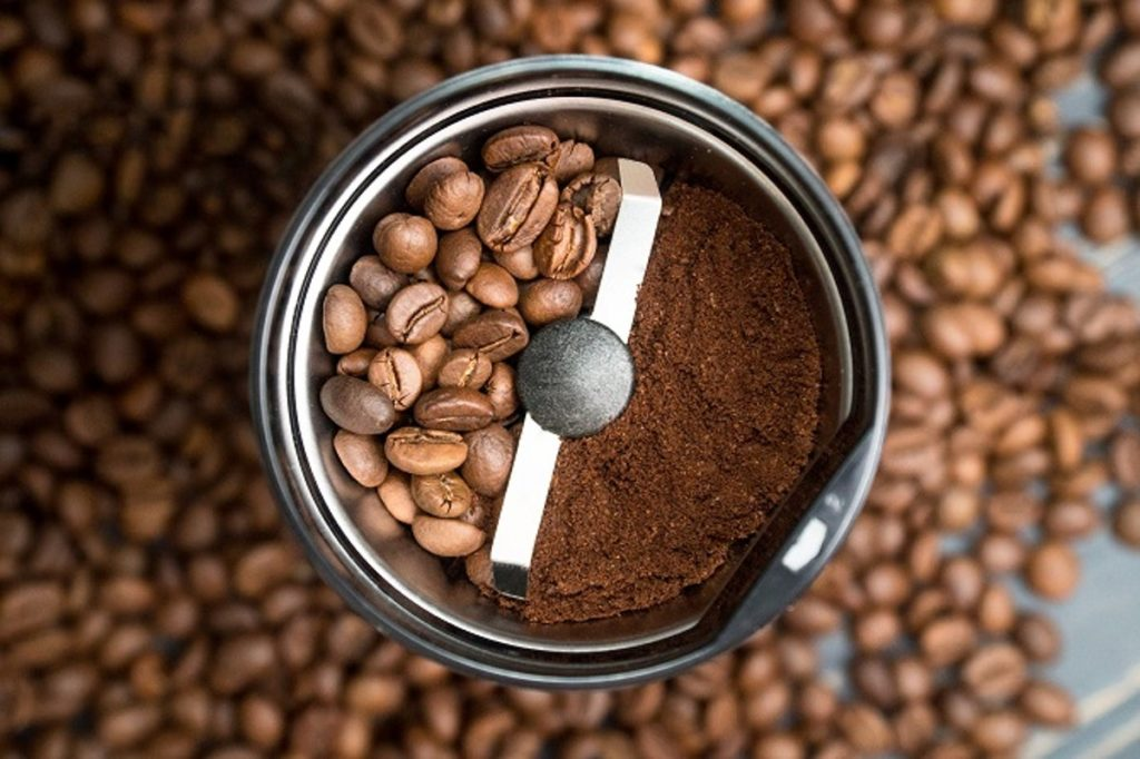 2. Coffee Grinding