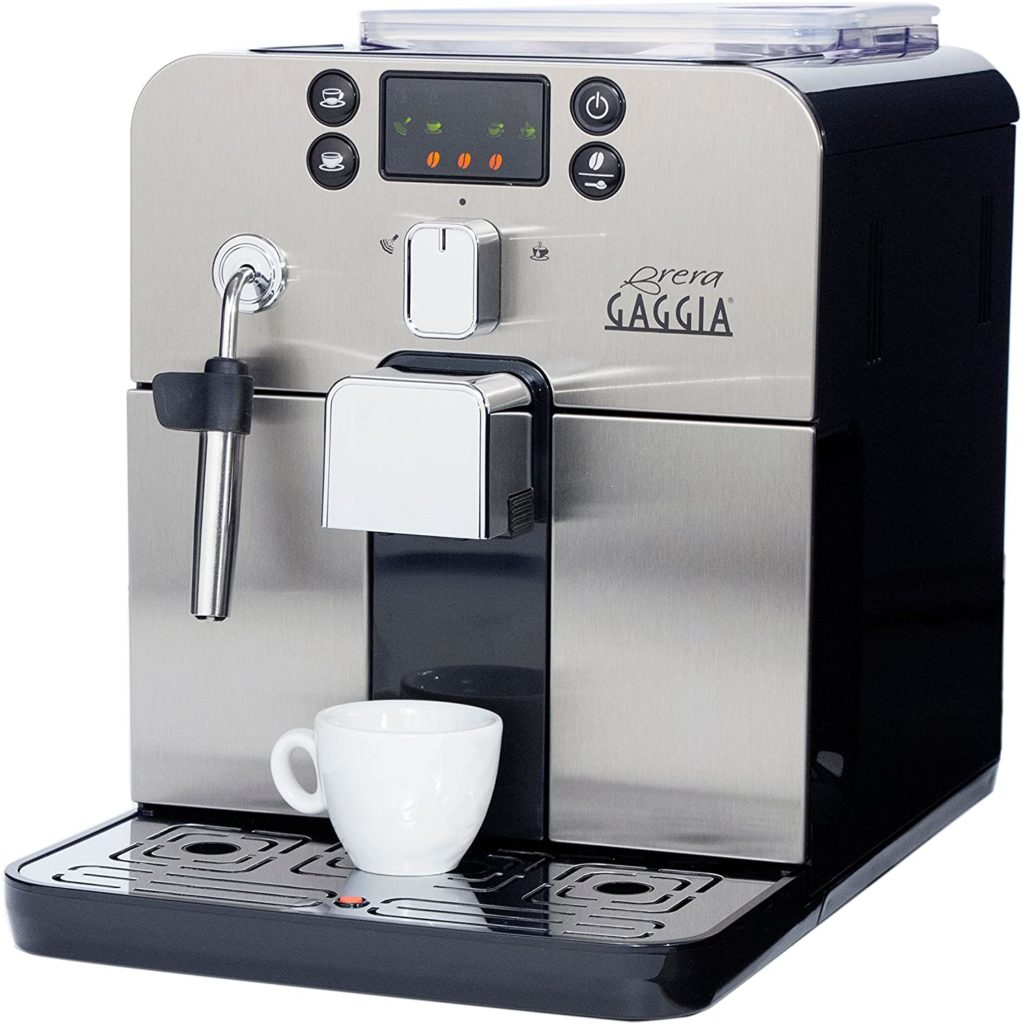 3. Gaggia Brera Super Automatic Espresso Machine