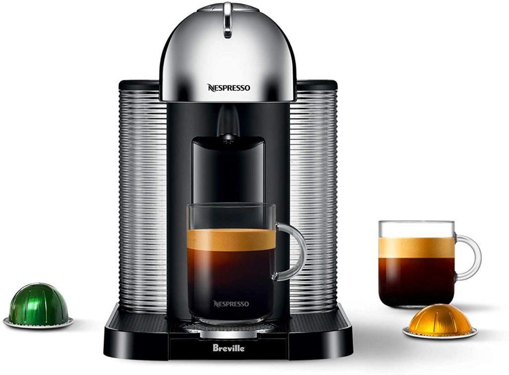 3. Breville BNV220CRO1BUC1 Vertuo Coffee and Espresso Machine