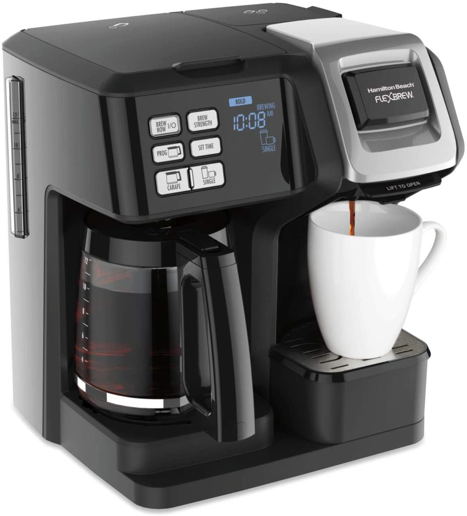 5. Hamilton Beach FlexBrew Trio Coffee Maker