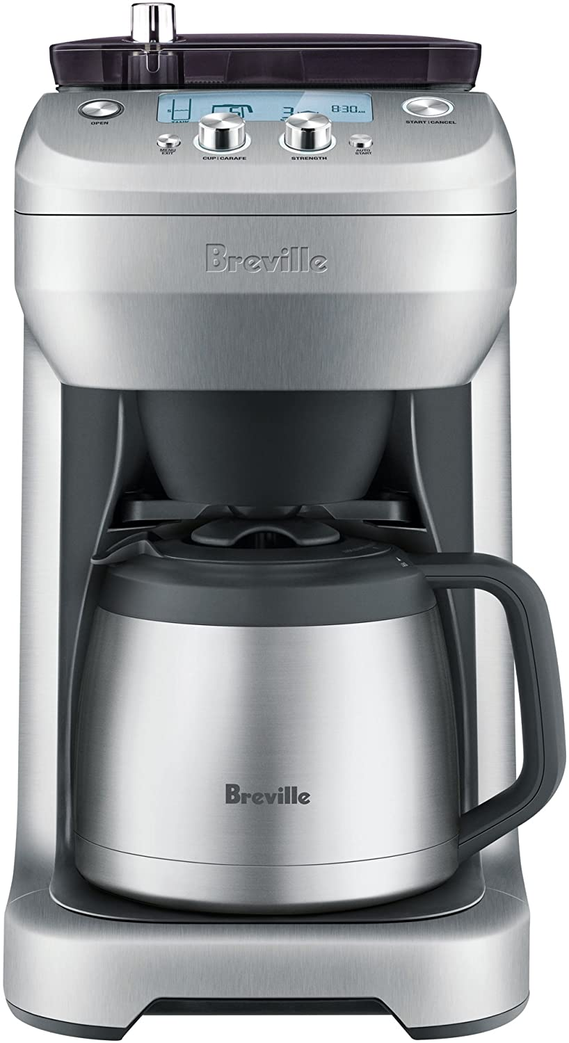 5. Breville BDC650BSS Grind Control Coffee Maker (Brushed Stainless Steel)