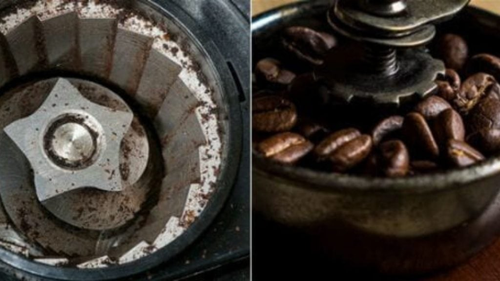 2) Burr Coffee Grinder