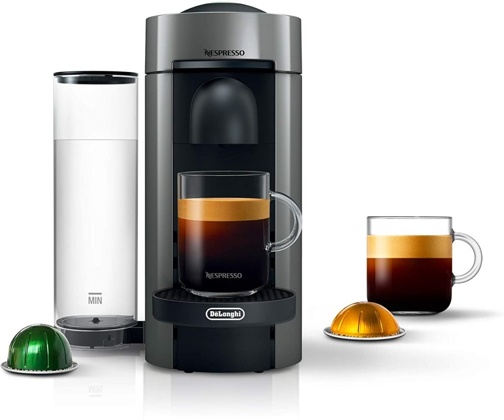 6. Nespresso VertuoPlus Coffee and Espresso Maker by De'Longhi
