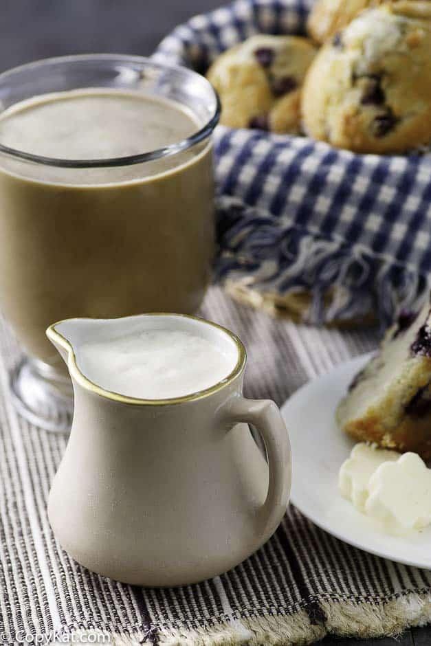 b. Coconut milk and Vanilla Extract