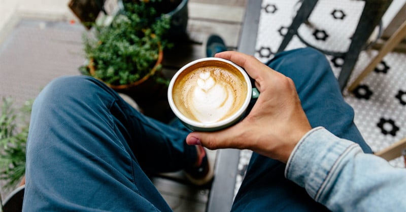 It's not recommended to drink coffee at the rise