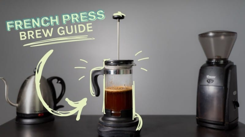 Brewing Coffee in French Press Machine Simple Steps