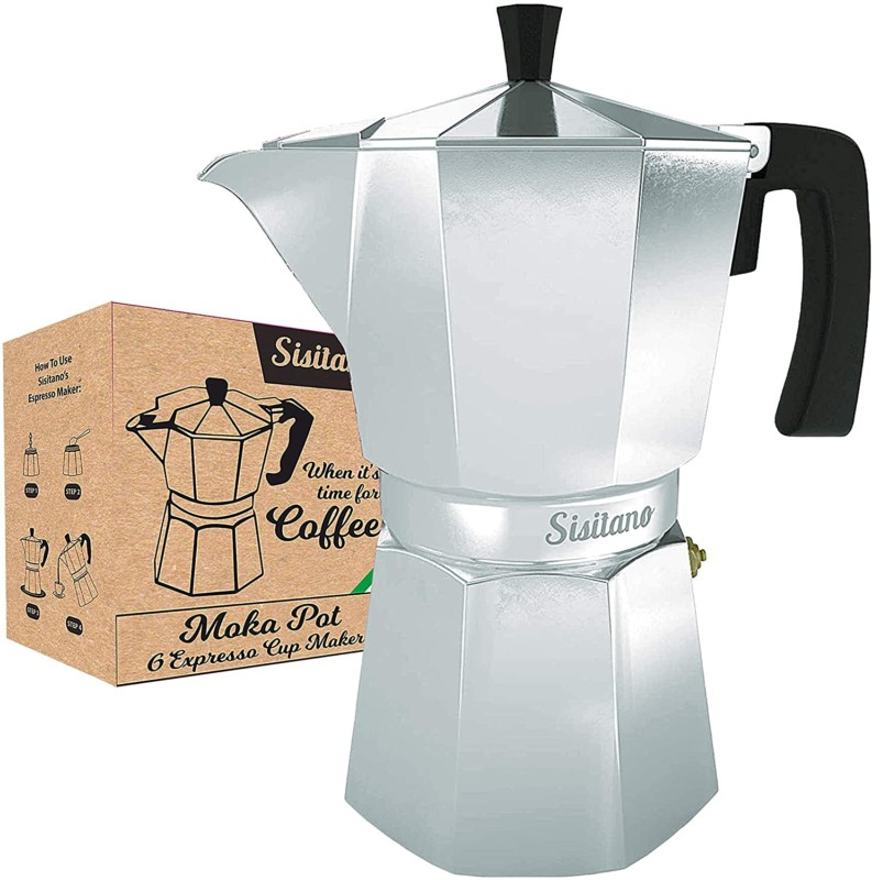 6 Cup Moka Pot Coffee Makers-Mocha Pot