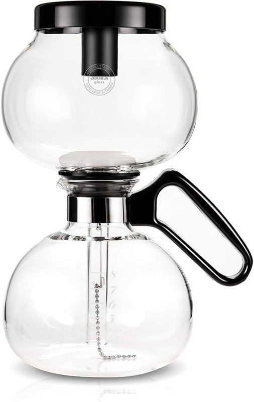1. Yama Glass, Heat-Resistant Glass Stovetop Vacuum Maker For Gas And Electric Rangetops