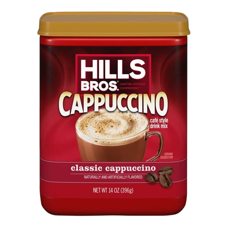 Hills Bros Cappuccino Instant Coffee Mix