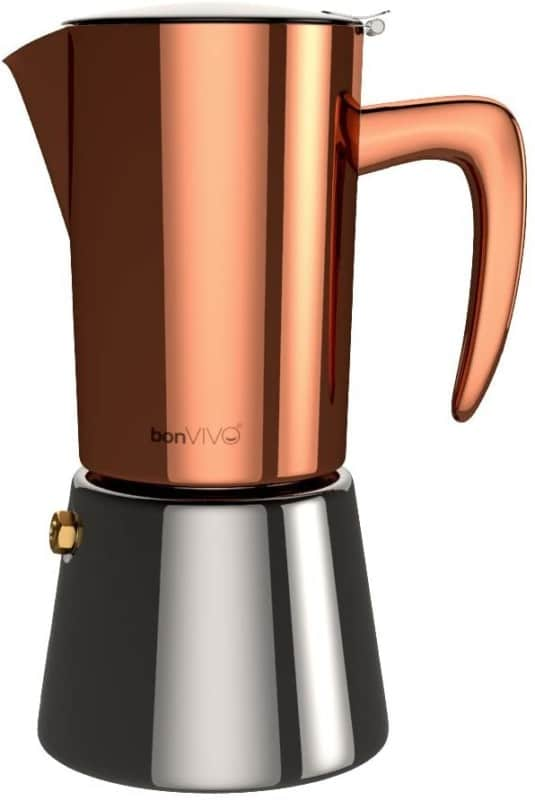 bonVIVO Intenca Stovetop Espresso Makers- Moka Pot