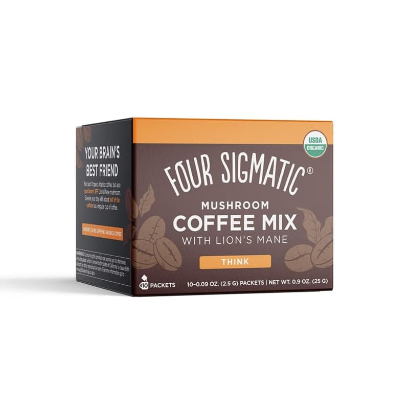 Four Sigmatic Mushroom Organic Instant Coffee