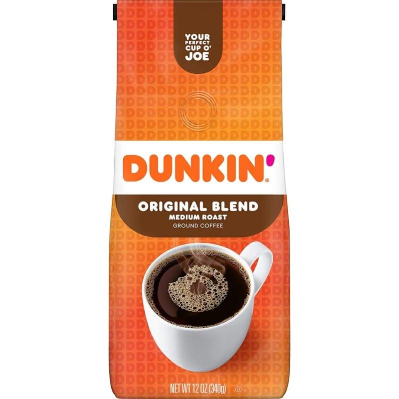 10. Dunkin' Original Blend Medium Roast Ground Coffee