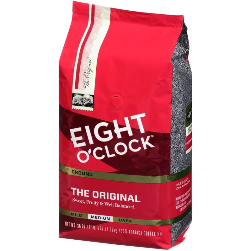 12. Eight O'Clock Ground Coffee