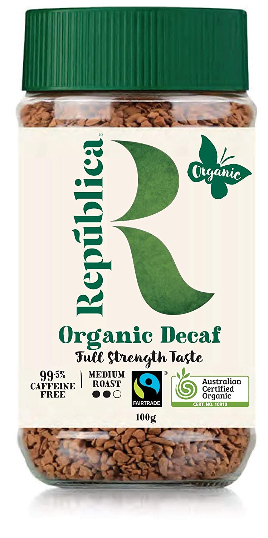 República Organic Decaf Instant Coffee