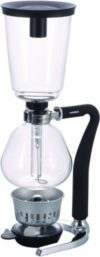 2. Hario Glass NEXT Syphon Coffee Maker with Silicone Handle, 5-Cup