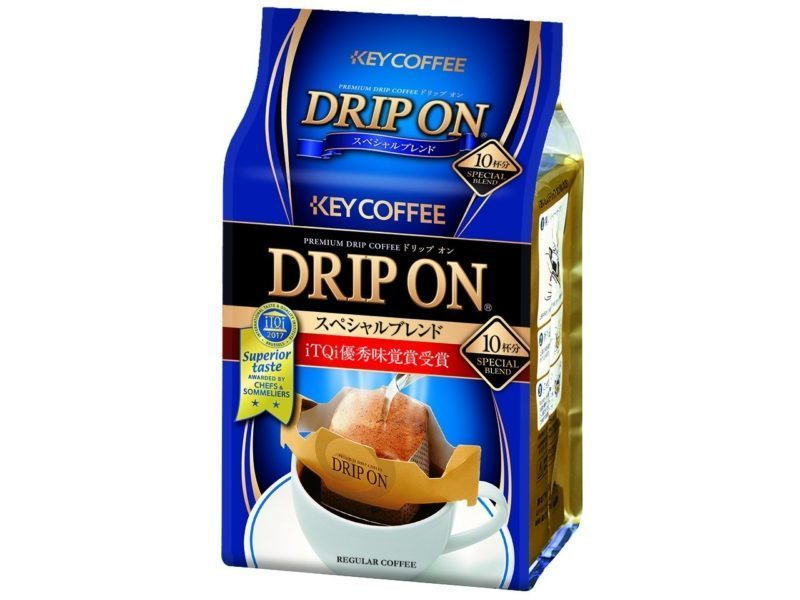 3. Monde Selection Award 2013 Key Coffee Special Blend Single Serve Hand Drip Coffee 10 Count