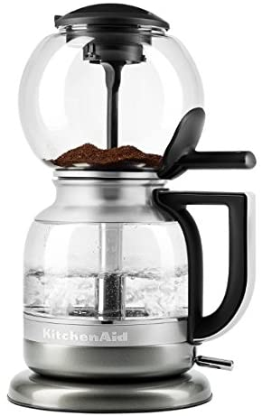 4. KitchenAid Siphon Coffee Brewer (Medallion Silver)
