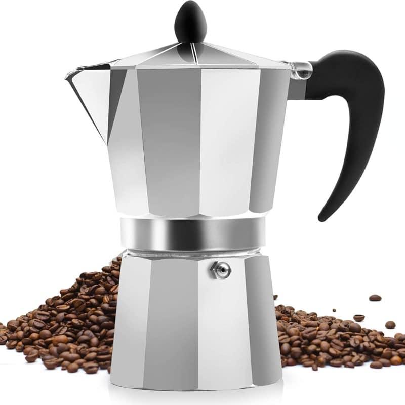 5. Zulay Kitchen Classic Moka Pot For Stovetop Espresso