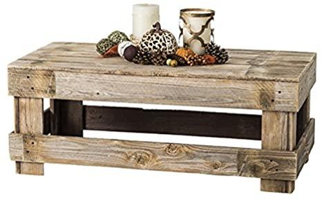 6. Del Hutson Designs Farmhouse Coffee Table