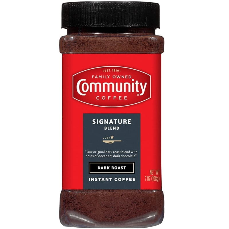 Community Coffee Signature Dark Roast Instant Coffee