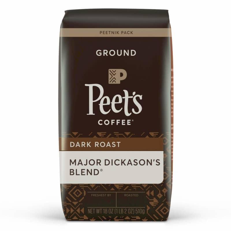 8. Peet's Coffee Major Dickason's Blend