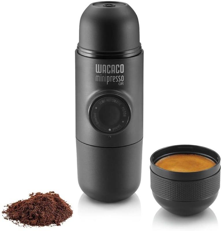 Wacaco Minipresso GR, Portable Espresso Maker