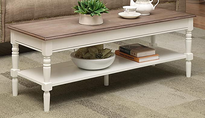 9. Convenience Concepts French Coffee Table