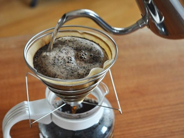 3. Pour-Over Coffee