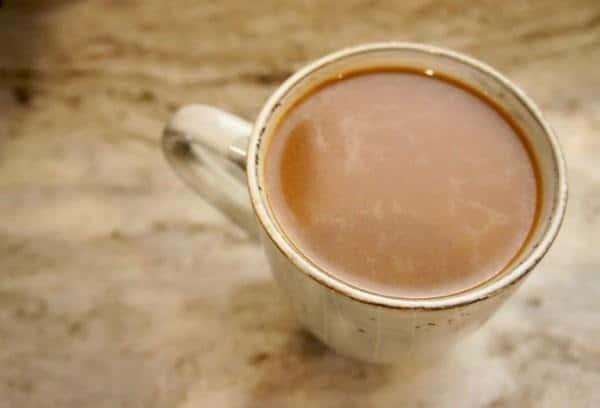 8. Maple Almond Latte