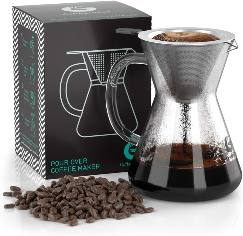 1. Pour Over Coffee Maker - Great Coffee Made Simple