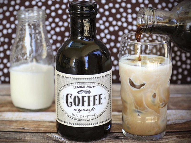 1. Use the coffee syrup in coffee