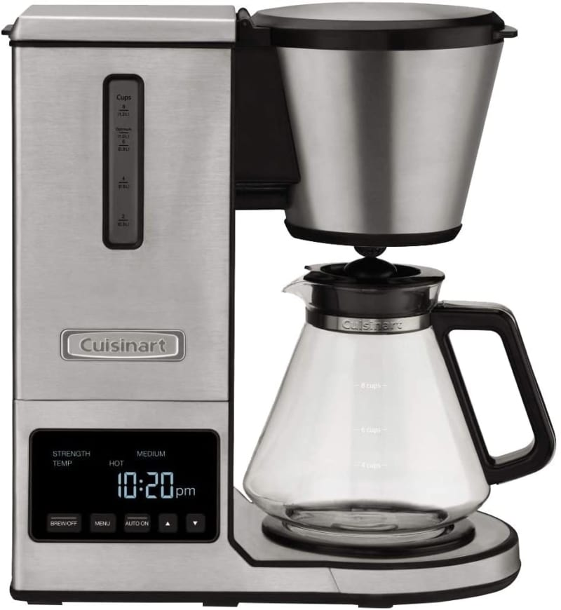12. Cuisinart CPO-800P1 PurePrecision Pour-Over Coffee Brewer