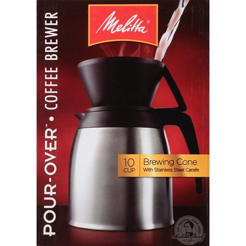 15. Pour- Over Brewer Melitta Coffee Maker