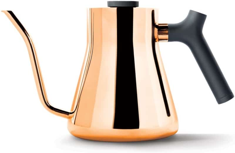 2. Fellow Stagg Stovetop Pour-Over Kettle For Coffee and Tea, 1.0L
