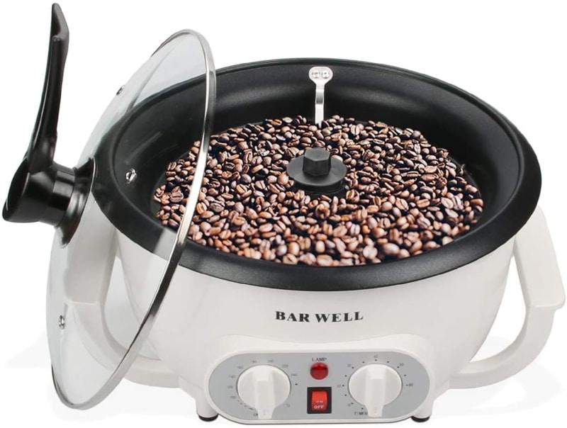 2. BAR WELL Coffee Bean Roaster Machine for Home Use