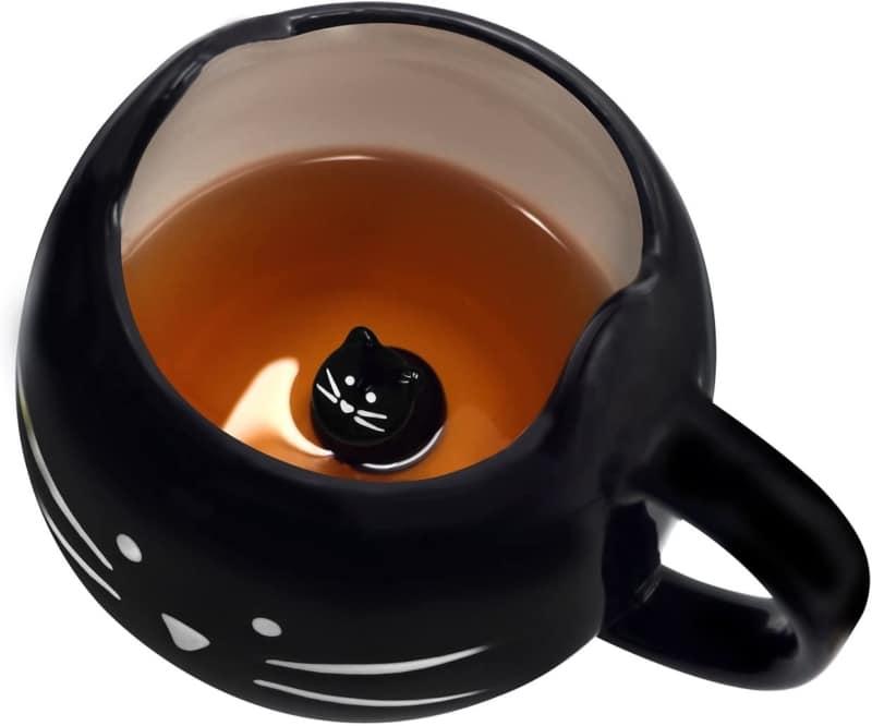 2. Koolkatkoo Cute Ceramic Cat Coffee Mug - Gifts for Women