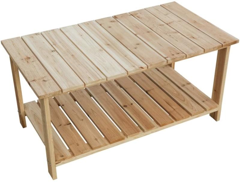 2. LOKATSE HOME Coffee Table for Outdoor