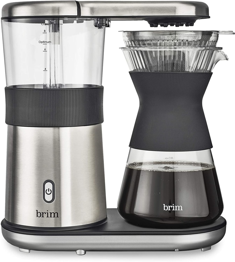 3. Brim 8 Cup Pour Over Coffee Maker Kit