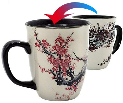 3. Asmwo Color Changing Heat Sensitive Magic Funny Art Mug