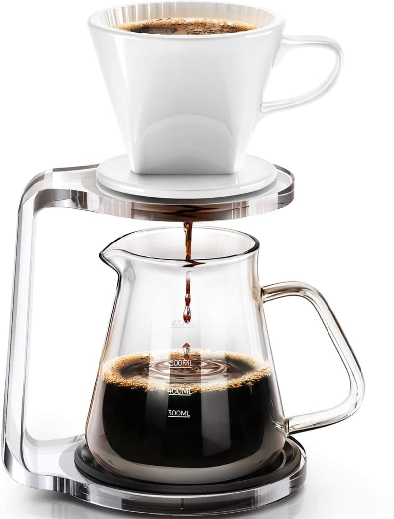 5. Pour Over Coffee Maker Starter Set with Dripper