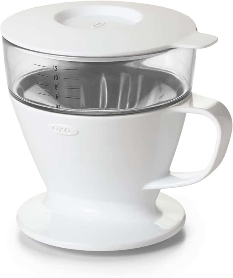6. OXO Brew Pour-Over Coffee Maker with Water Tank
