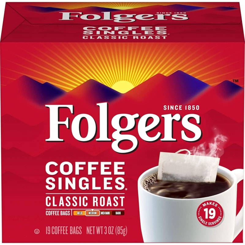 3. Folgers Single Serve Steeped Coffee