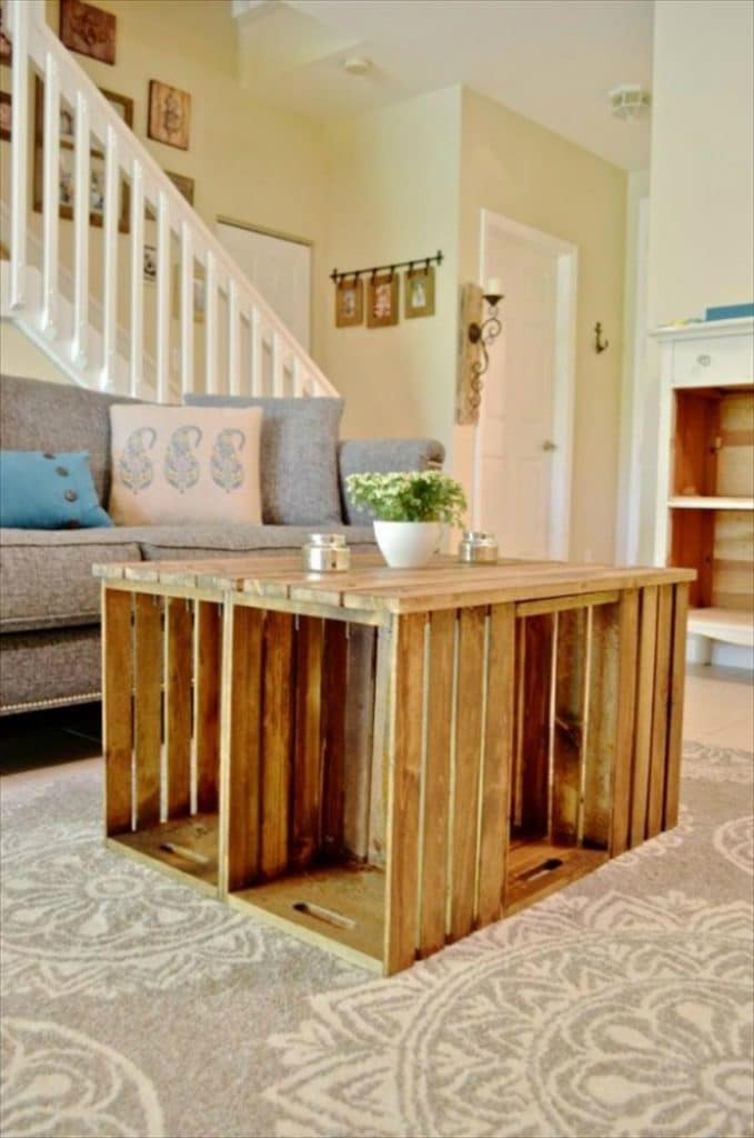 Home interior design with vintage coffee tables (4)