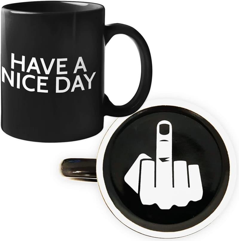 7. Funny Coffee Mug by Find Funny Gift Ideas