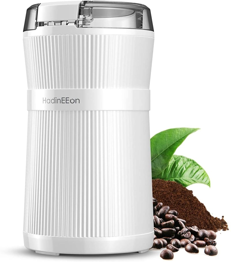 7. HadinEEon Electric Coffee Grinder