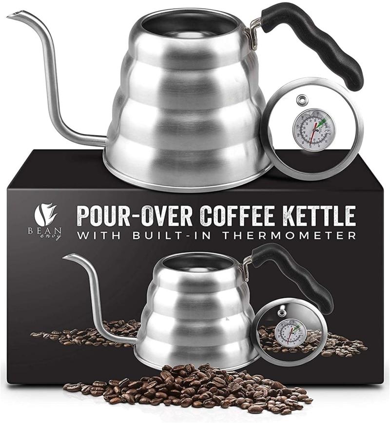 9. Bean Envy Gooseneck Pour Over Coffee Kettle Kettle
