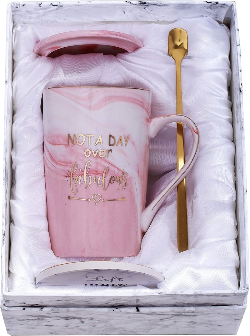 9. Jumway Not A Day Over Fabulous Mug - Birthday Gifts for Women