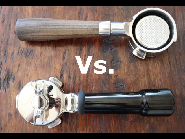 4. What Are The Differences Between A Regular Portafilter And A Bottomless Portafilter?