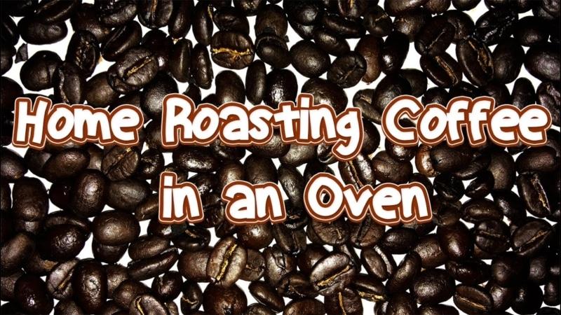 3. Home Roasting Using Ovens