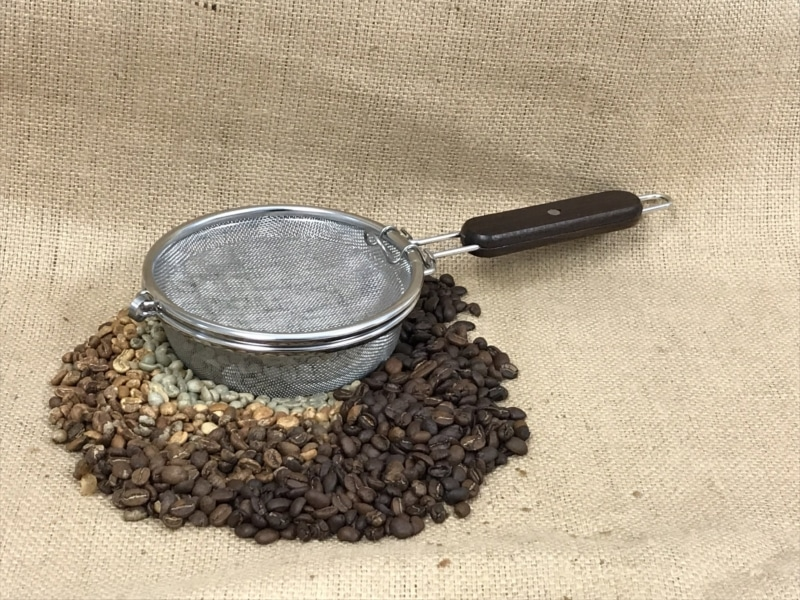 1. Home Roasting Using Strainers